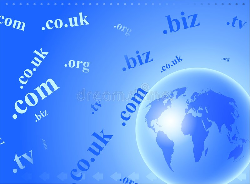 Download Domain globe stock illustration. Image of background, connectivity - 4996744