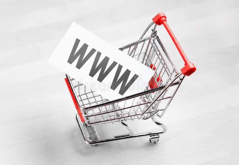 Domain Name de achat pour le site Web de société photo libre de droits