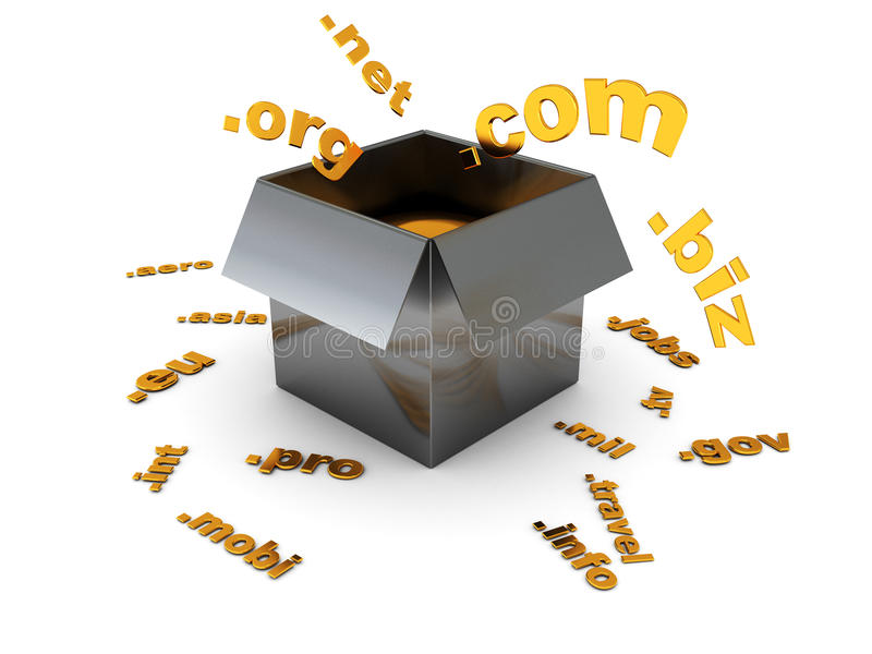 Download Domain registration stock illustration. Image of network - 9993870