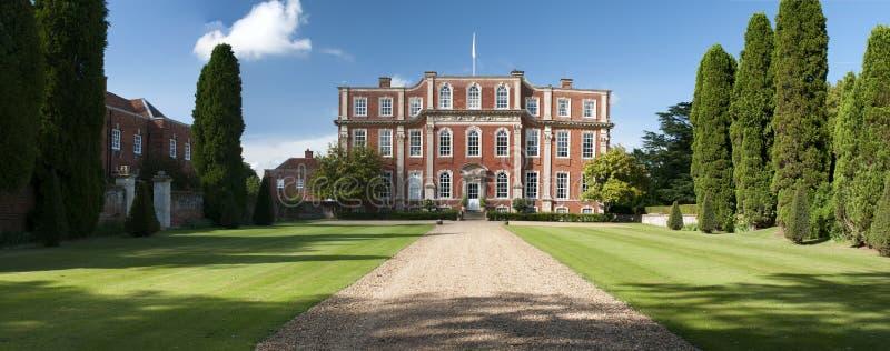 Domaine anglais Chicheley Hall photo libre de droits