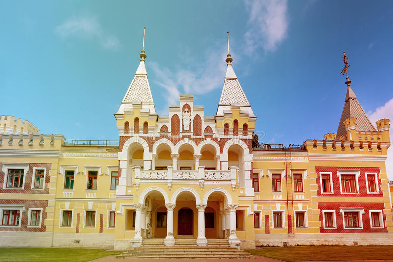 Domaine dans la région de Riazan kiritsy photo stock