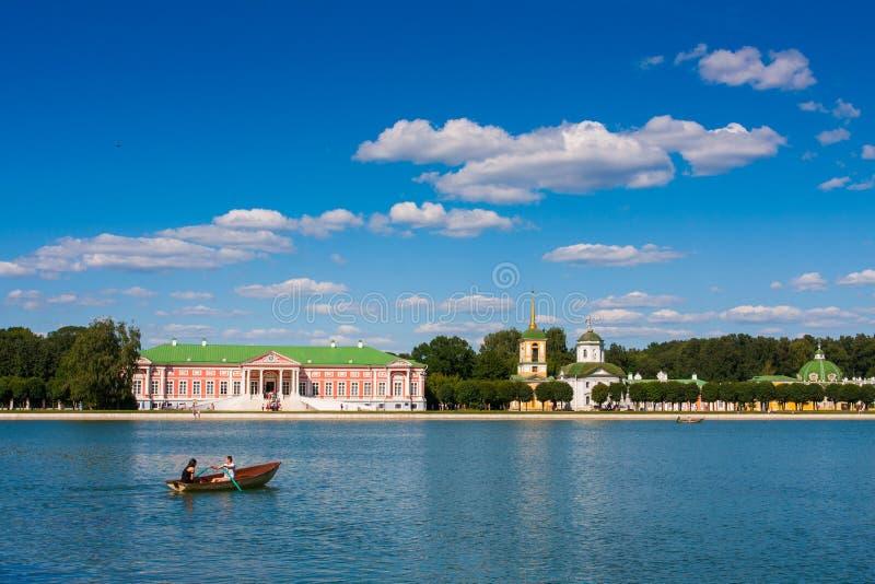 Domaine de Kuskovo, Moscou, Russie photos stock