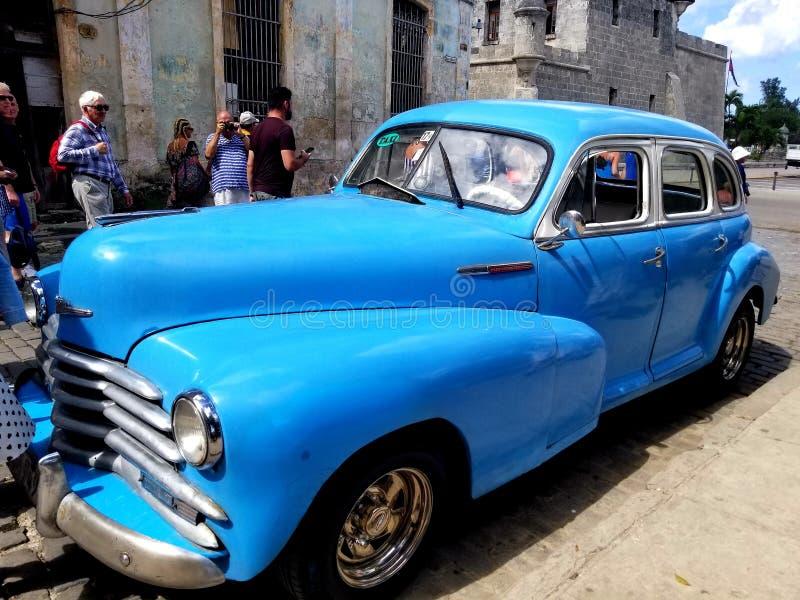 Domandandosi sulle vie di Avana fotografia stock libera da diritti