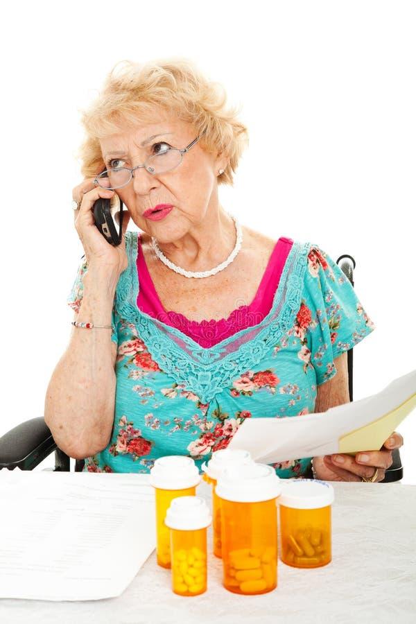 Domande circa assicurazione-malattia immagini stock libere da diritti