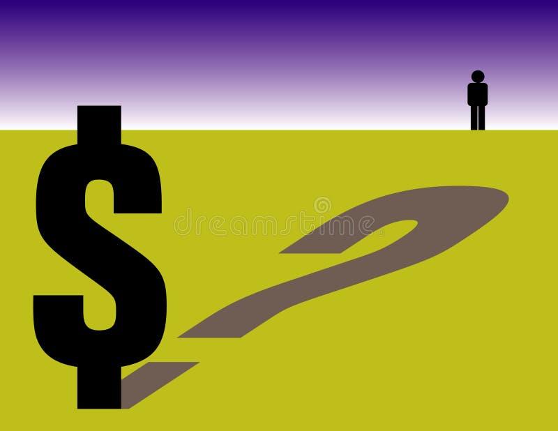 Download Domande finanziarie illustrazione vettoriale. Illustrazione di copia - 7315265