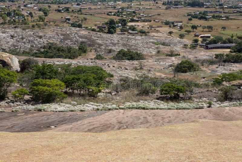 Domboshawa-Höhlen lizenzfreies stockbild