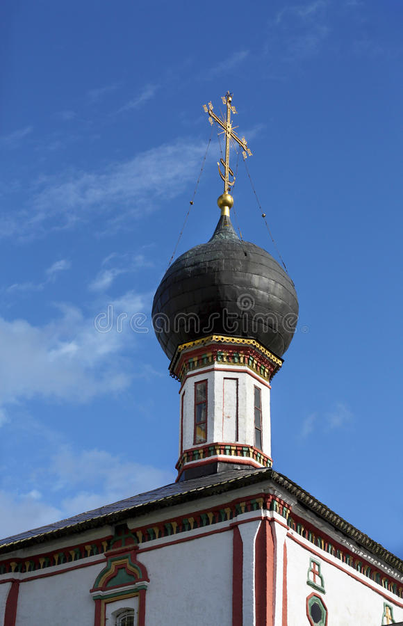 Dome of the ancient church royalty free stock photos