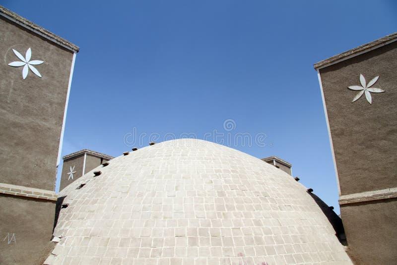 Dome and badgirs stock photos