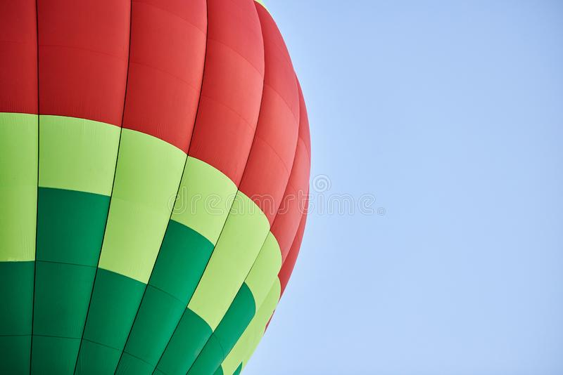 The dome of the balloon, the background texture. For all purposes stock photo