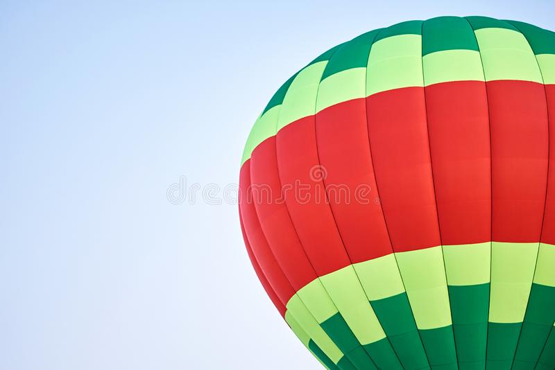 The dome of the balloon, the background texture. For all purposes stock photos