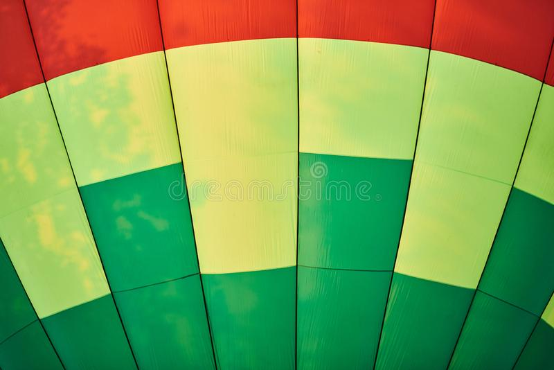 The dome of the balloon, the background texture. For all purposes stock image