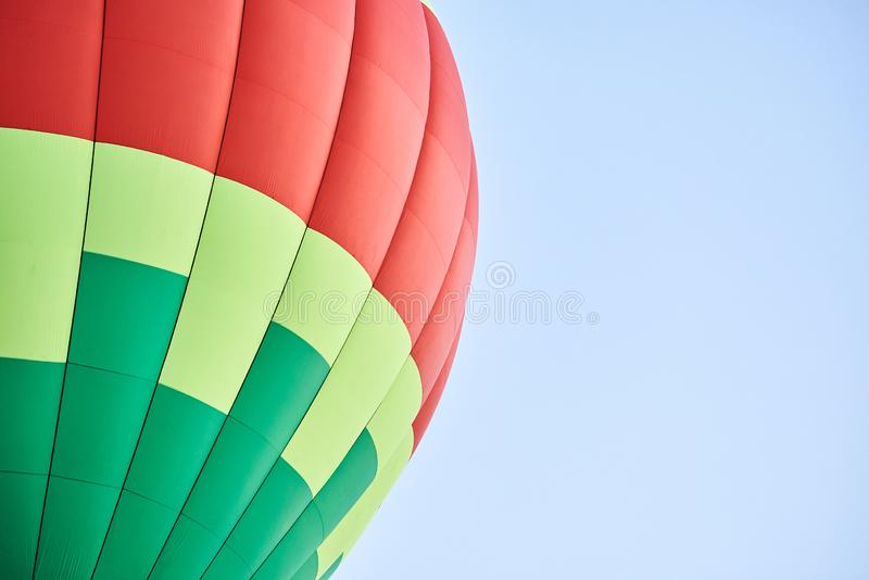 The dome of the balloon, the background texture. For all purposes stock images