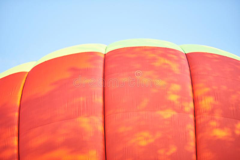 The dome of the balloon, the background texture. For all purposes royalty free stock image