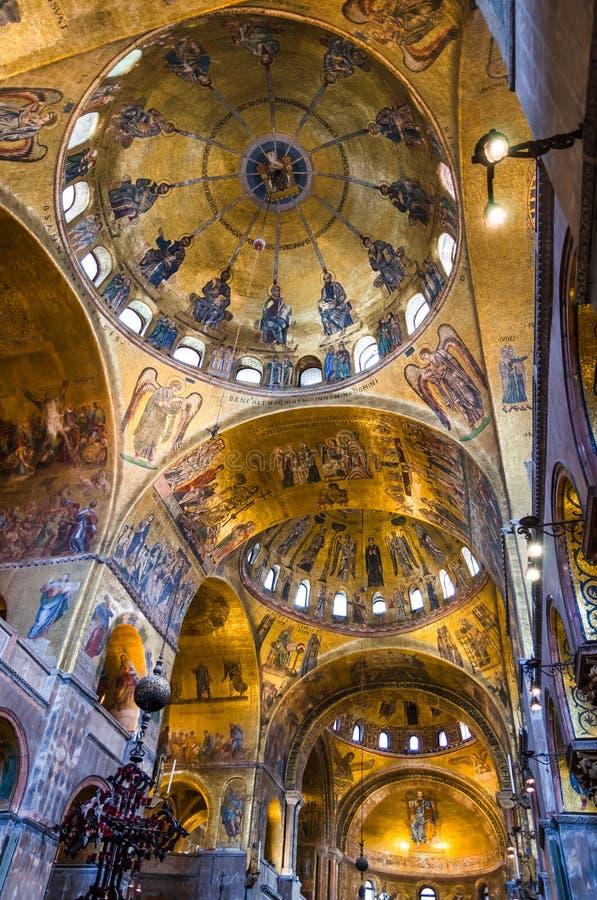 Dome Of Basilica Di San Marco Venice Editorial Stock