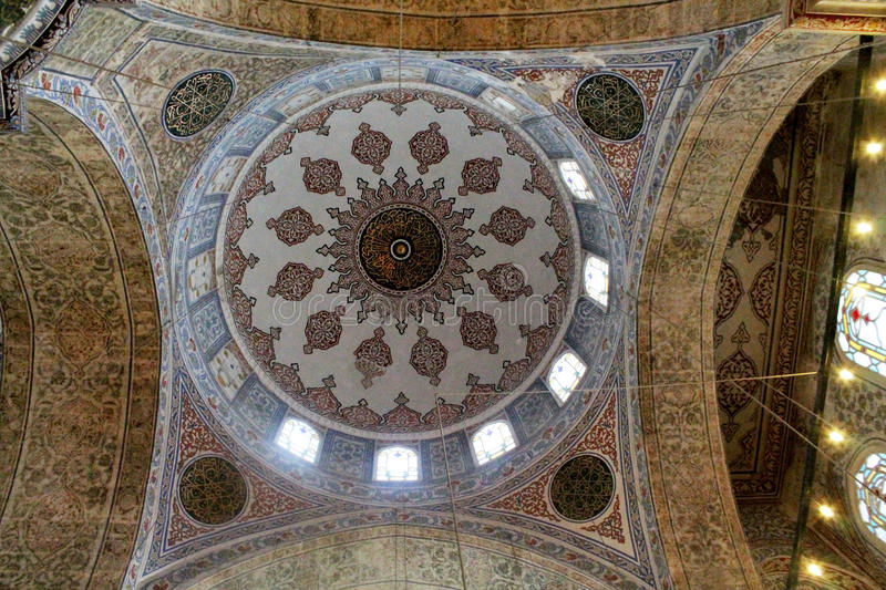 Dome of the Blue Mosque stock photography