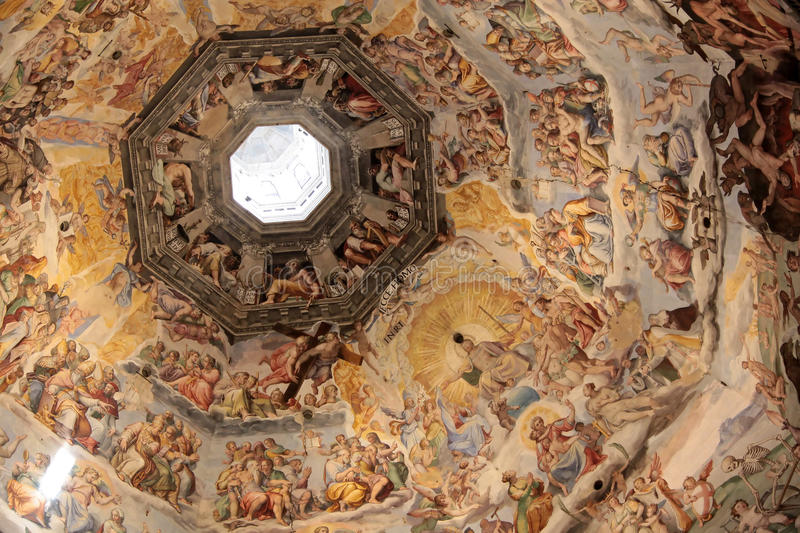 Download Dome Of The Cathedral In Florence Stock Images - Image: 14787414
