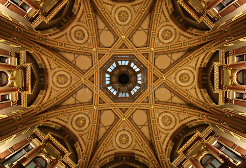 Dome Ceiling stock photos