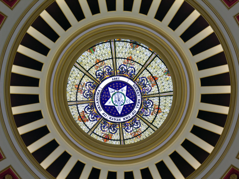 Download Dome Detail Great Seal stock image. Image of stained, architecture - 113251
