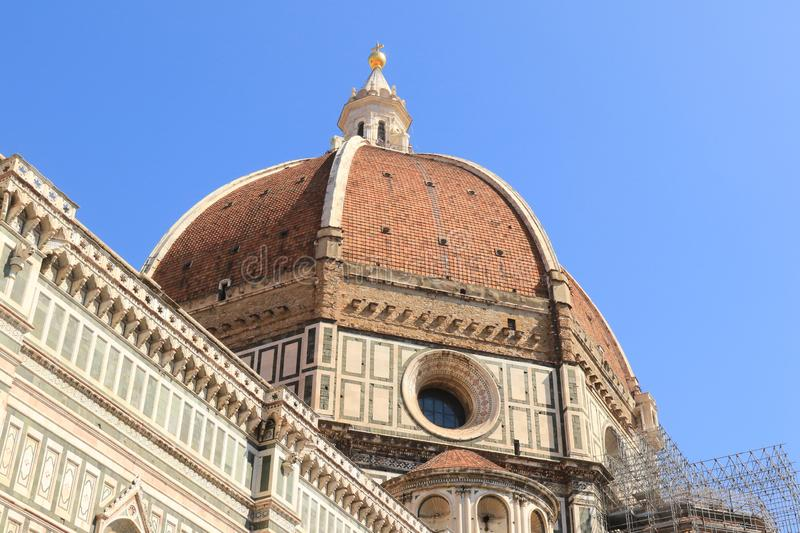 Dome of the Duomo. Duomo, Florence royalty free stock photography