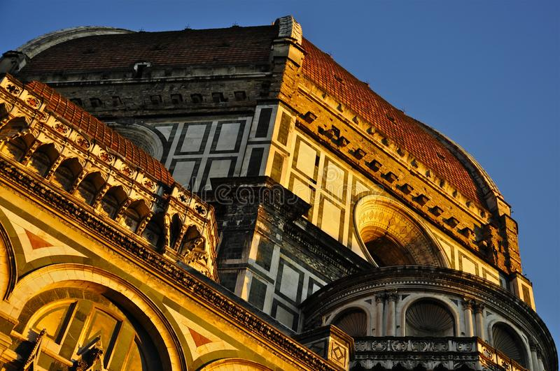 The Dome of Florence Cathedral (Toscane) royalty-vrije stock fotografie