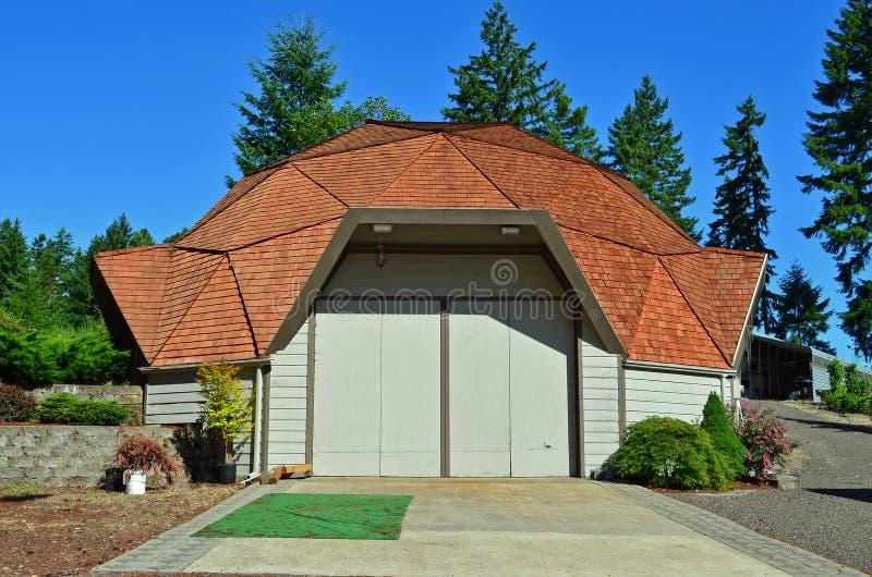 Dome Garage royalty free stock photo