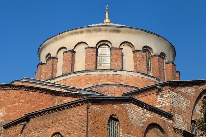 Dome of Hagia Irene. Dome of the church of Hagia Irene in Istanbul, Turkey stock photo