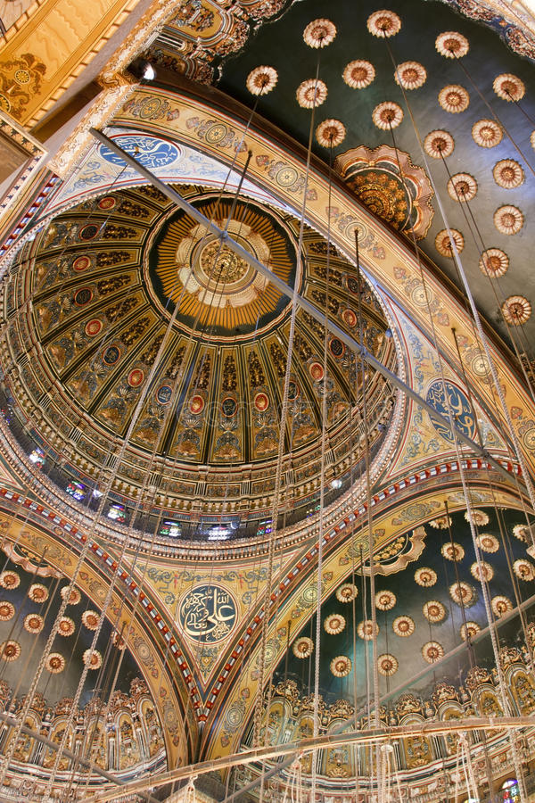 Download Dome Of Mohammed Ali Mosque Stock Photo - Image: 30126976