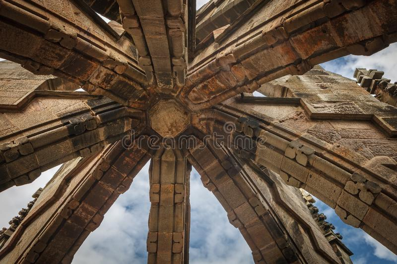 Dome of the monument to William Wallace, Stirling, Scotland. stock photography