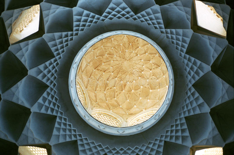 Dome of mosque royalty free stock photos