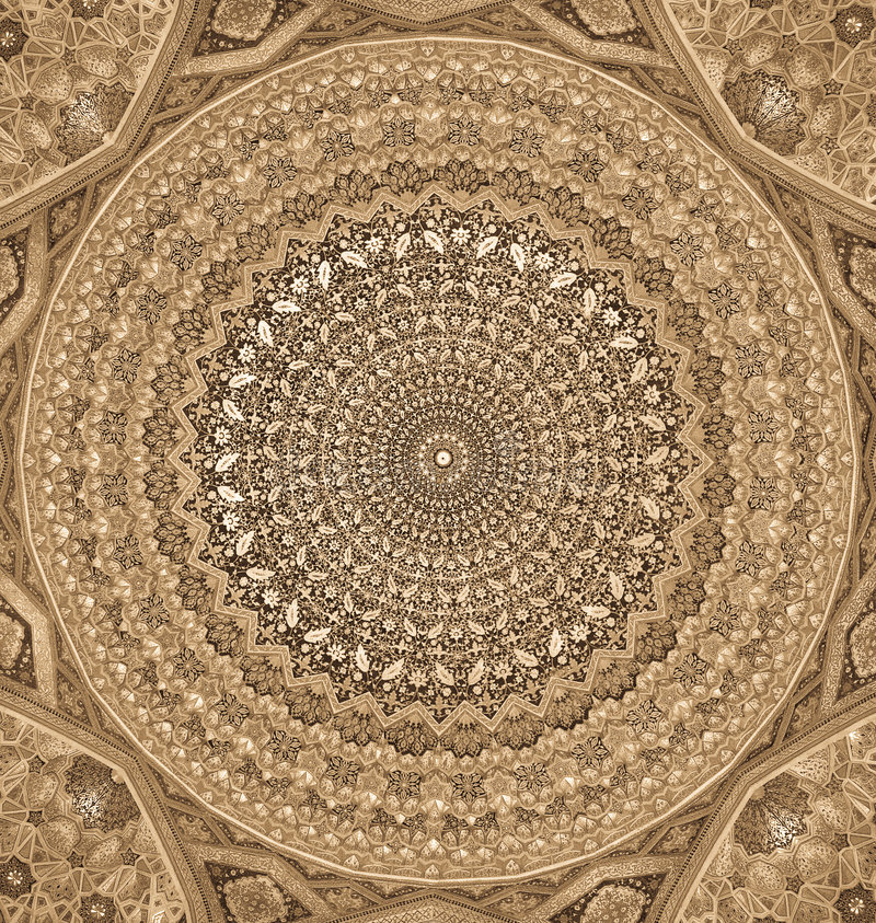 Dome of the mosque vector illustration