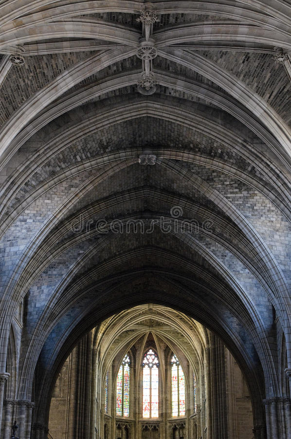 Free Dome Of Gothic Cathedral Stock Photography - 10632292