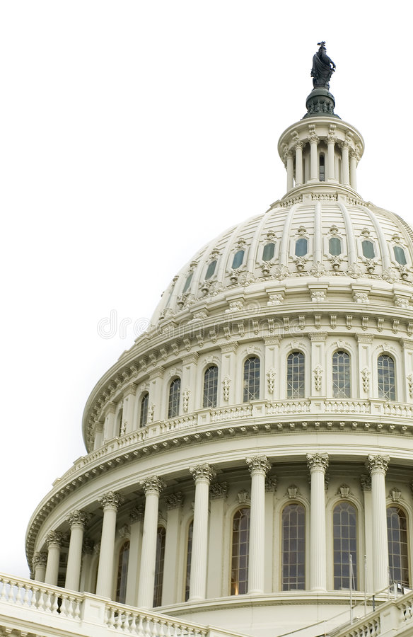 Free Dome Of US Capitol Royalty Free Stock Image - 5621846