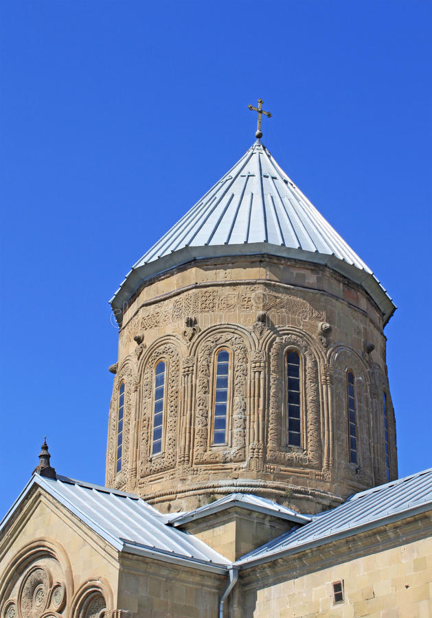 Dome of Orthodox Church royalty free stock photos