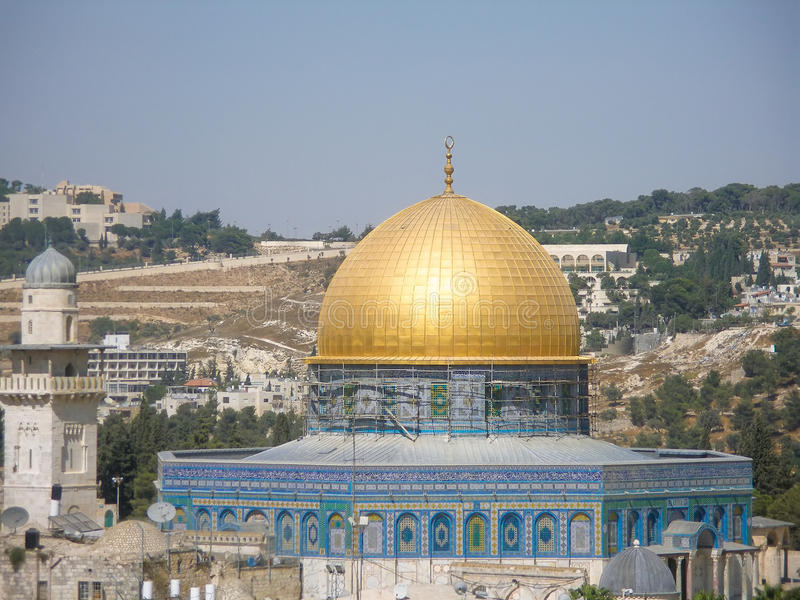 Download Dome of the Rock stock image. Image of faith, history - 26283963