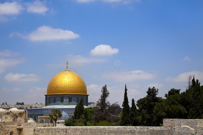 Download Dome of the Rock stock photo. Image of holy, gold, ancient - 29882944
