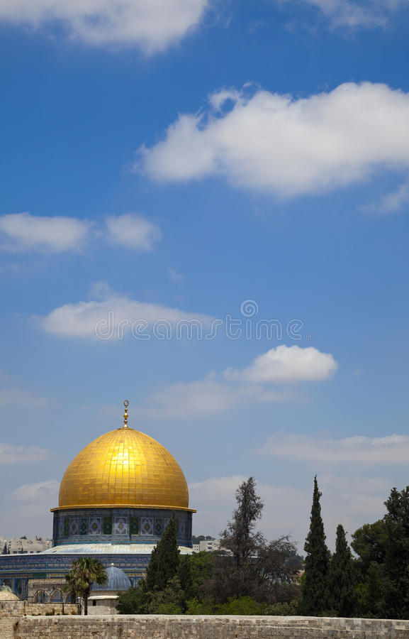 Download Dome of the Rock stock image. Image of famous, immense - 29883071