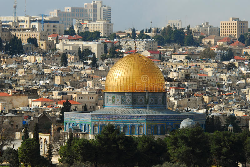 Download The Dome Of The Rock On The Temple Mount Stock Image - Image: 18563077