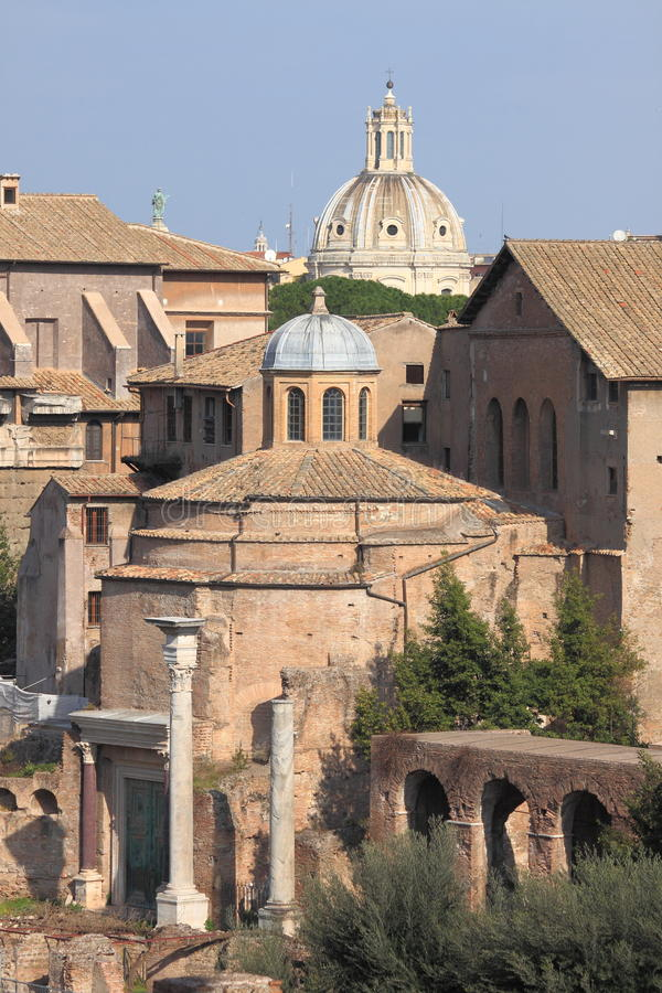 Dome in Rome stock photos