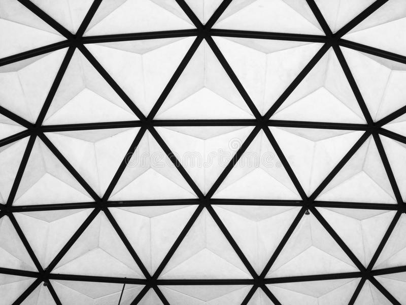 Dome roof. Background or texture stock images