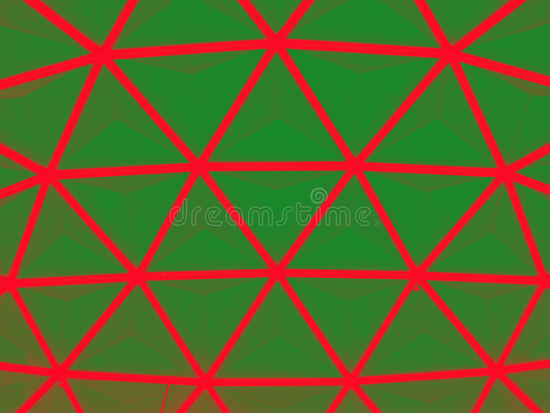 Dome roof. Green dome roof background texture royalty free stock image