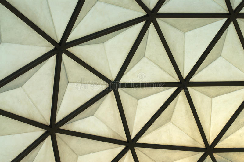 Dome roof. Structure of dome roof ,made from steel royalty free stock images