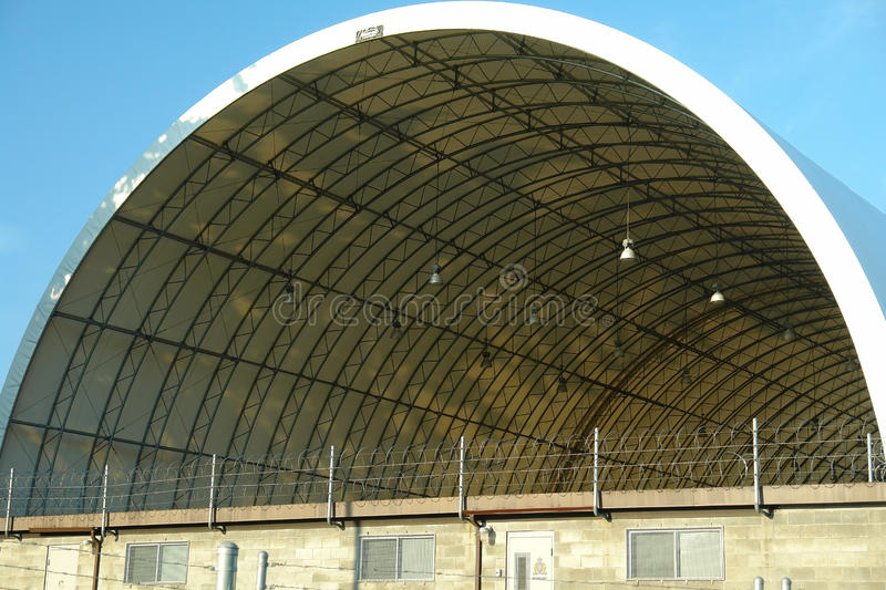 Dome Roofed Building Restricted Area