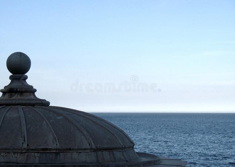 Dome, Architectural Details, Scarborough, North Sea, North Yorkshire, England stock image
