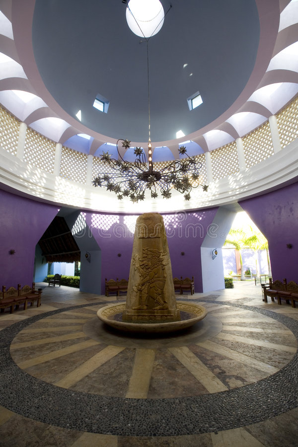 Download Dome With Sculpture At Luxury Resort In Mexico Stock Images - Image: 6006974