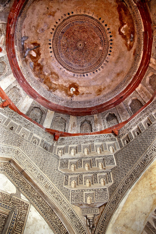 Dome Sheesh Shish Gumbad Tomb Lodi Gardens Delhi royalty free stock image