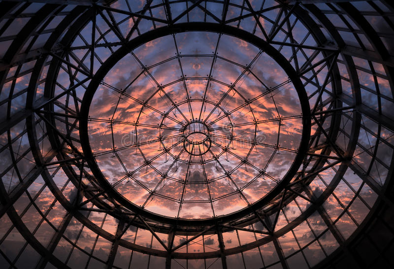 Dome and Sunset