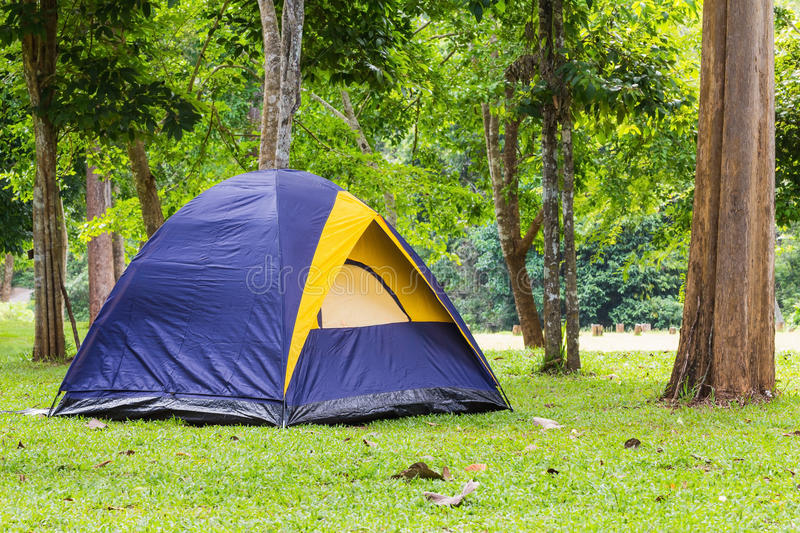 Dome tent royalty free stock photos