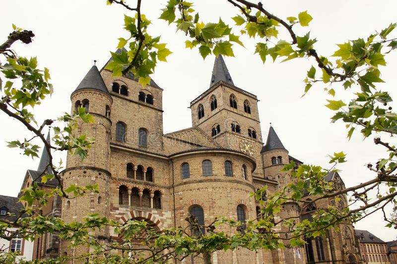 Dome of trier, historical roman building. Rhineland stock photos