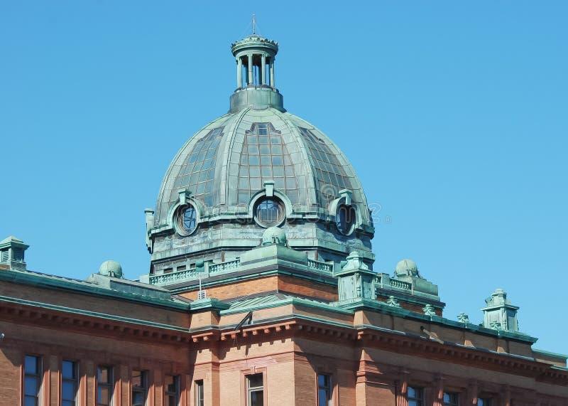 Domed brick building stock photo