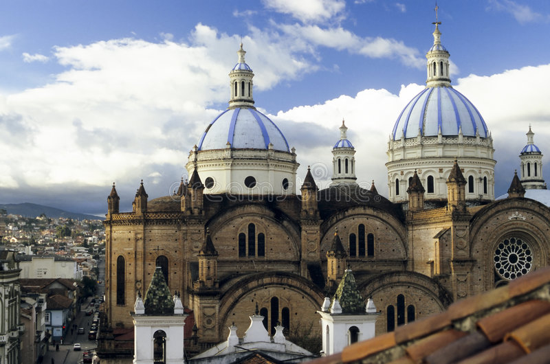 Download Domed Cathedral, In Cuenca, Ecuador Stock Photo - Image: 5775692